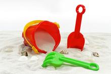 Sand Mit Spielwaren