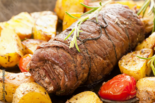 Fotografie, Tablou  Beef roulade