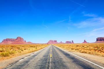 Road to Monument Valley, Arizona-Utah, USA