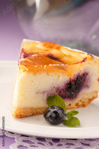 Cadres-photo bureau Dessert tasty cheesecake