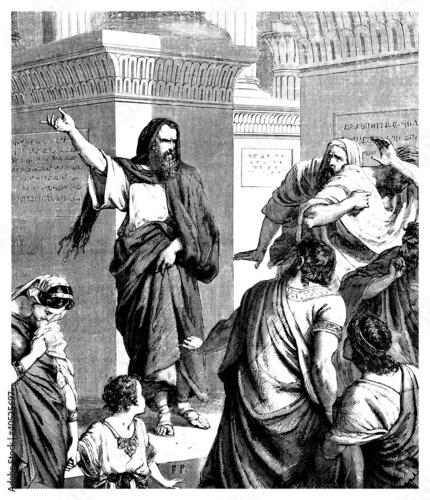 Antique Jew  Prophet Fotomurales