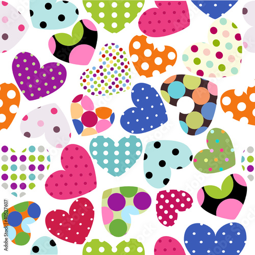 heart patches - 40527607