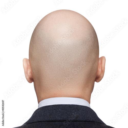 Bald man head Wall mural