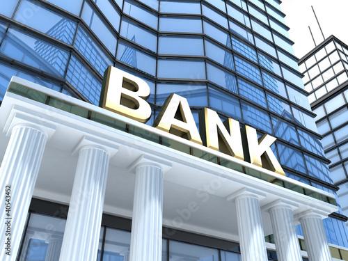 Fototapeta Build bank obraz