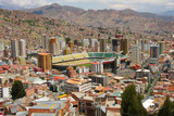 General view of La Paz, Bolivia
