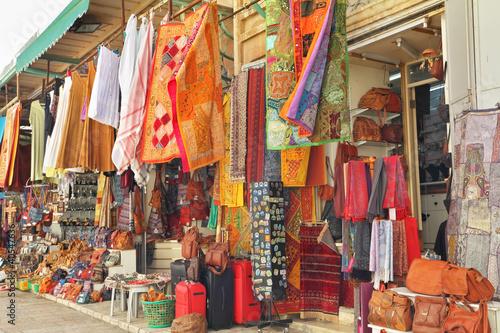 Poster Maroc Variegated colors of oriental bazaar