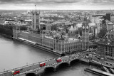Fototapeta Fototapety z mostem - Houses of Parliament London