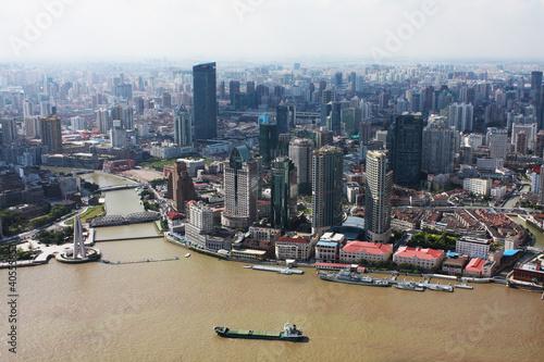 Shanghai City Poster