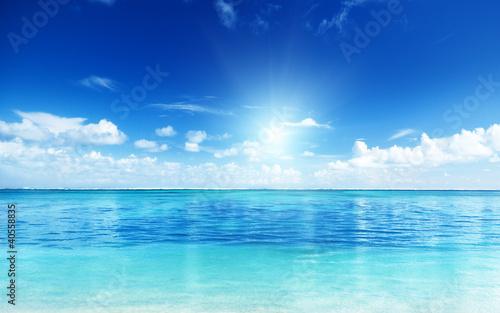 Poster Mer / Ocean ocean and perfect sky