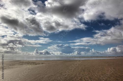 Spoed Foto op Canvas Noordzee Nationalpark Wattenmeer an der Nordsee