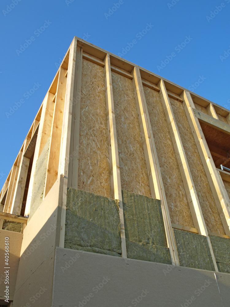 isolation maison en bois