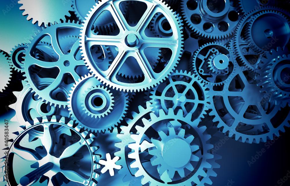 Fototapeta gears