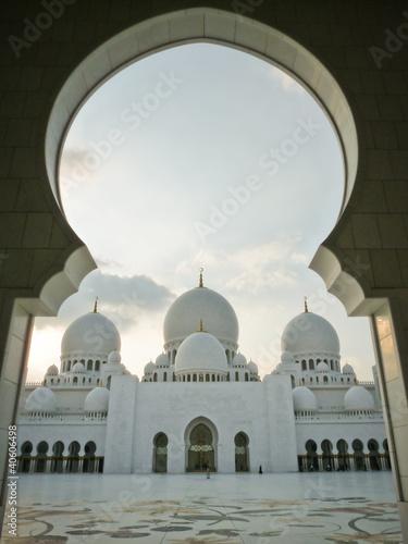 Fotobehang Midden Oosten Sheikh Zayed mosque, Abu Dhabi