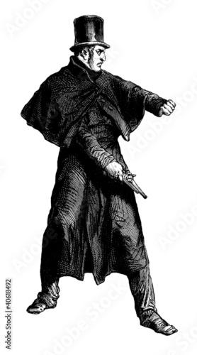 Fotografía  Policeman 19th century