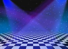 Party Dance Floor Background