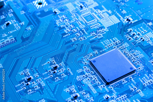 Fotografie, Obraz  Technik Computer- Mikroelektronik