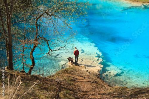 Fototapeta Blauer See