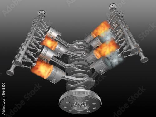 Fotografía  Motor.
