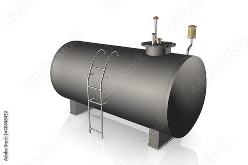 Photo  Dieseltank