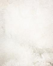 White  Wall Texture, Grunge Ba...