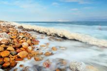 Dead Sea Shore Near Ein Gedi, Israel