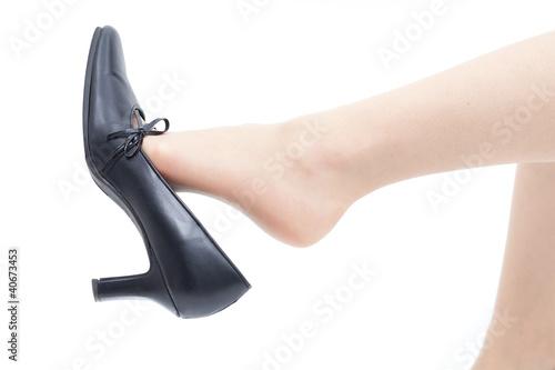 Fotografia  女性の足と靴