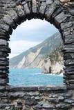 Ligurian coast.Portovenere town, Italy
