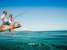 Fishing Team - Little Girl Fis...