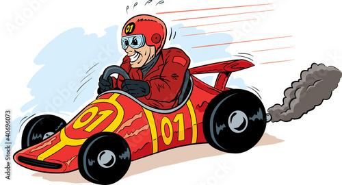 Foto op Canvas Cars Speed Demon