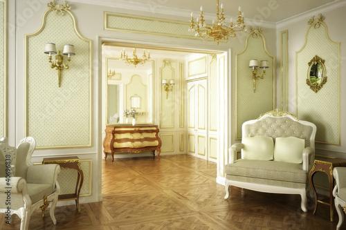 Fotografía  Barocke Luxus-Suite