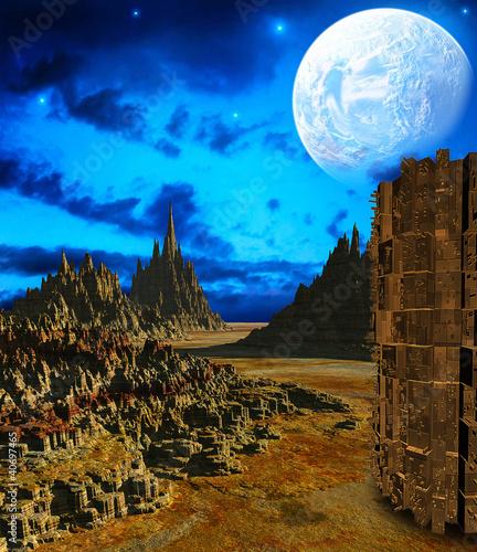 3d Fantasy landscape - 40697465