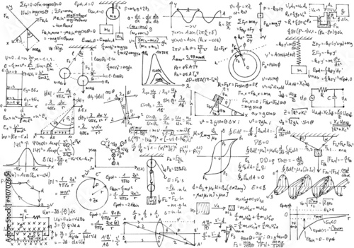 Physik Hintergrund Fototapete