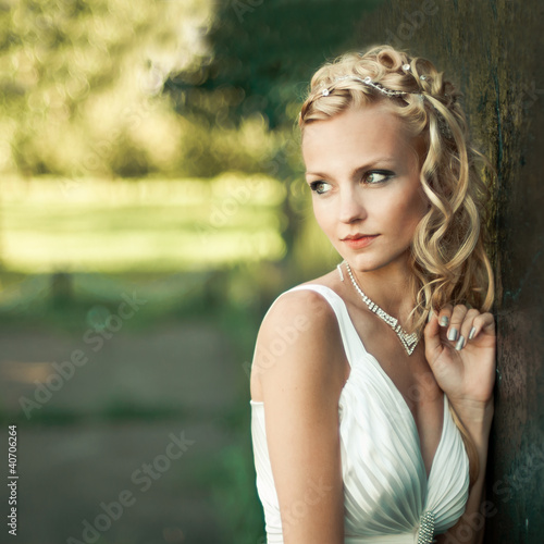 Fotografie, Obraz  portrait of a beautiful blonde