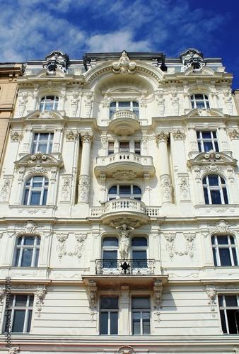 Foto-Kassettenrollo premium - Altbau Fassade