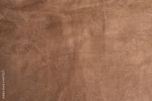 Photo Brown velvet texture closeup