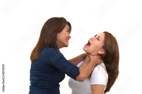Fényképezés  Zwei Frauen im Streit