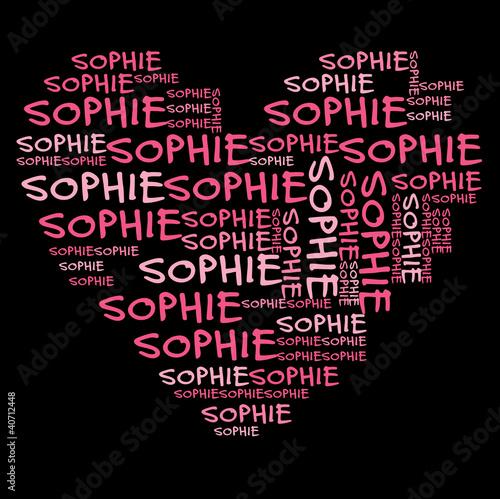 Платно Ich liebe Sophie | I love Sophie