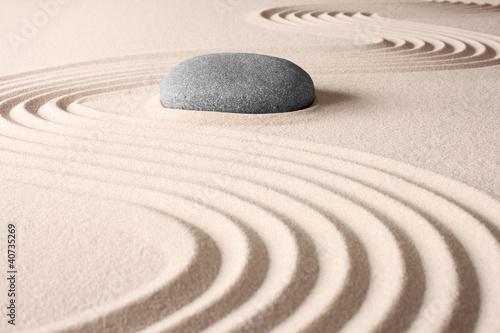 Fotografie, Obraz  japanese zen garden