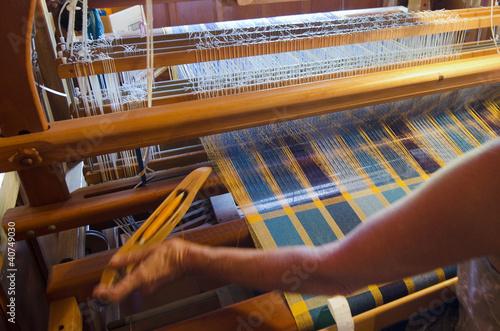 Fotografie, Obraz  Craft and Art -Weaving