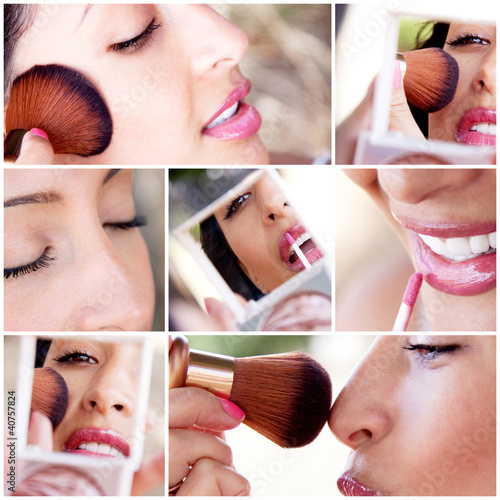 make-up and beauty montage #40757824