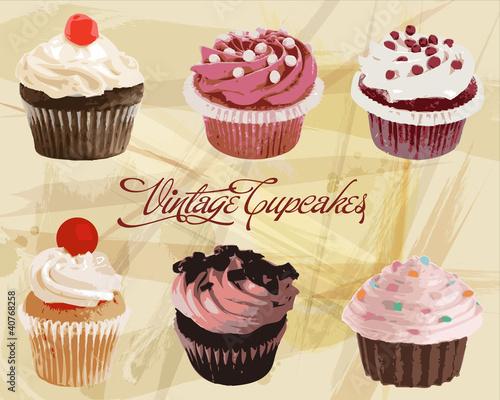 vintage-paper-cupcakes