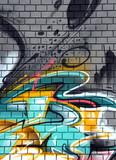 Fototapeta Młodzieżowe - graffiti