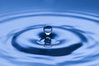 Leinwandbild Motiv Wassertropfen