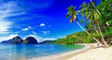 Piękna plaża w El-nido