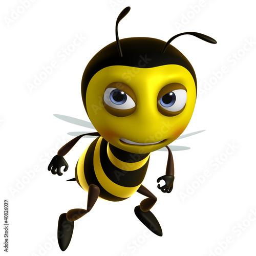 Poster de jardin Doux monstres sad bee