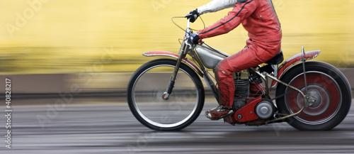 Fotografie, Tablou  Speedway rider