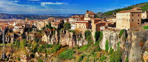 Fototapeta travel in spain - Cuenca, city on rocks