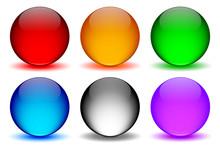 Renkli Ikon Küreleri