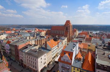 Fototapeta old town of Torun, Poland