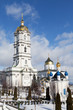Ancient sacred Christian Pochaev Monastery of Holy Dormition. We